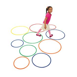Brawny Tough Activity Hoops  Set of 15 by Discount School Supply