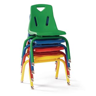 "10"" Berries Stacking Chairs with Matching Legs - Set of 6"