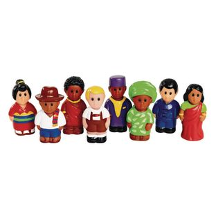 Around The World 3 H People Set of 8 by Discount School Supply[r]