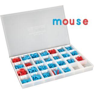 EZread™ Color-Coded Plastic Magnetic Letter Kit