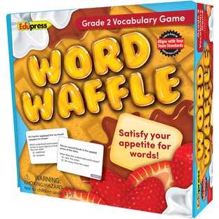 Word Waffle Vocabulary Game - 1 game