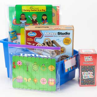 Family Engagement Kits/ Games for at Home Play