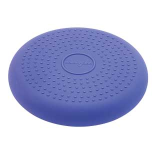 "Bouncyband Wiggle Seat Sensory Cushion - Purple, 10-5/8"" Dia."