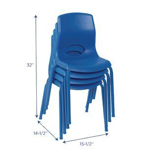 "Angeles® MyPosture™ Chair 14"" H - Set of 4"