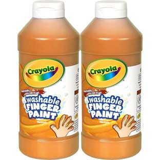 Crayola® Washable Finger Paint - 16oz - Set Of 2