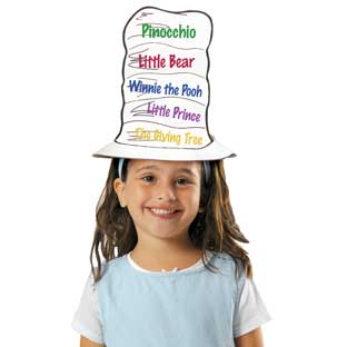 Ready-To-Decorate® Reading Hats