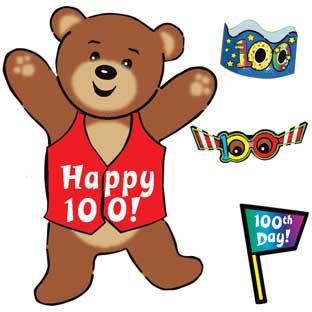 100th Day Build-A-Sticker