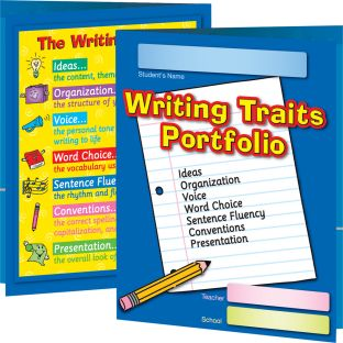 Writing Traits Portfolio Folders - 12 folders