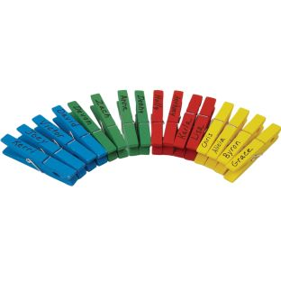Classroom Management Rainbow Clothespins