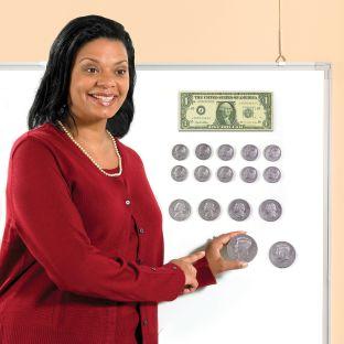 Big Money Magnetic Coins And Bills Set