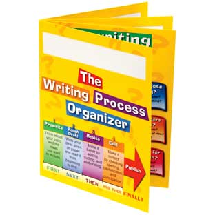 Writing Process 4-Pocket Student Folders - Set of 12