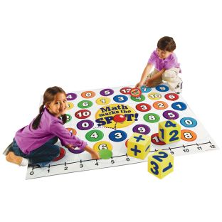 Math Marks The Spot: A Math Floor Game - 1 game.