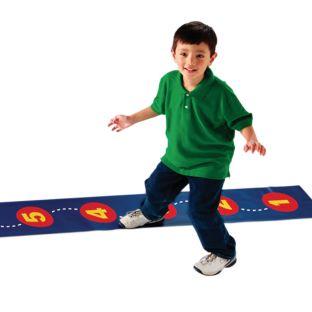 Step-by-Step Number Line - 1 number line mat.