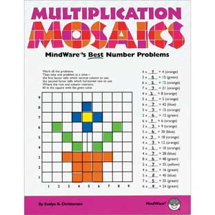 Multiplication Mosaics Book - 1 book.