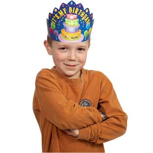 It's My Birthday Crowns