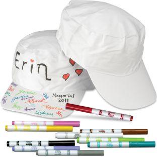 Autograph Cap Kit - 1 kit.