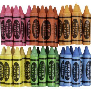 Crayon Erasers