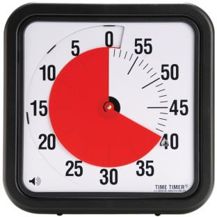 "12"" Audible Time Timer® - 1 timer"