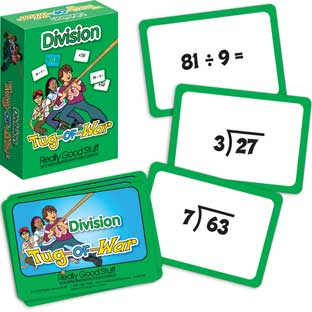 Really Good Tug-Of-War: Division - 64 cards