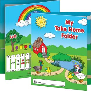 Early Childhood Take Home Folders - 12 folders