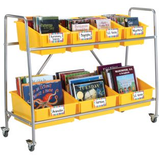 Mobile Storage Rack - 1 book rack