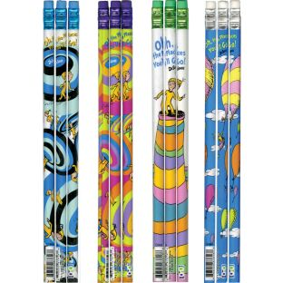 Dr. Seuss Oh, The Places You'll Go Pencils Pack