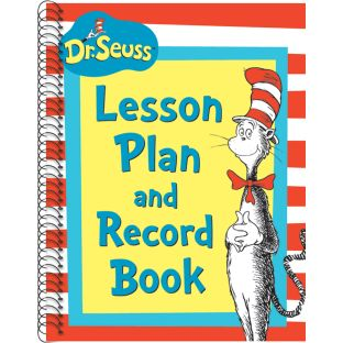 Dr. Seuss™ Cat In The Hat Lesson Plan Record Book - 1 book