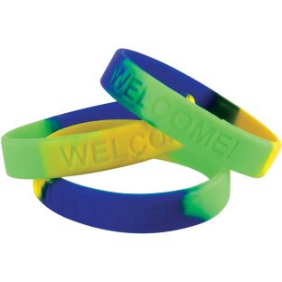 Welcome! Silicone Bracelets Set
