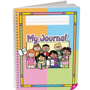 Deluxe Spiral Draw and Write Journals (Kids Cover) - Pre-K - K - 6 journals