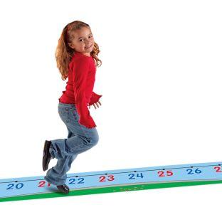 0-30 Number Line Floor Mat - 1 floor mat