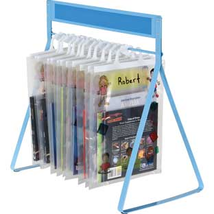 Store More Sturdy Hang-Up Totes Rack™ - 1 rack