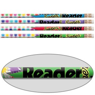 Super Reader Pencils - 12 pencils