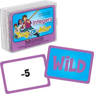 Really Good Tug-Of-War - Integers - 64 cards