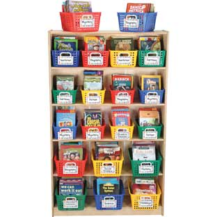 Really Good Book Basket and Label Organizing Kit