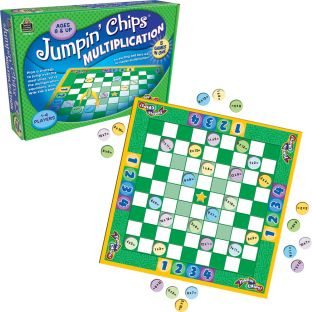 Jumpin' Chips!® Multiplication Game - 1 game