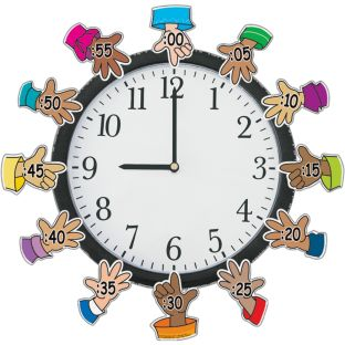 Mini Helping Hands Around The Clock - 12 hands
