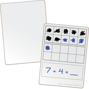 Double Ten-Frame Dry Erase Board Set