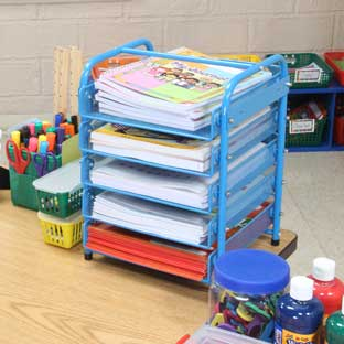 Really Good Desktop Classroom-Papers Organizer™
