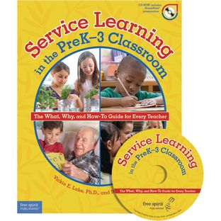 Service Learning In The Pre-K-3 Classroom Book And CD - 1 book, 1 CD