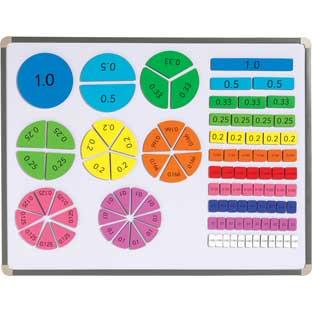 Magnetic Decimal Tiles - 106 magnets