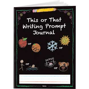 This Or That Writing Prompt Journals - 12 journals