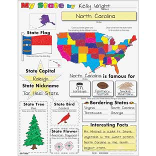 Ready-To-Decorate® My State Posters - 24 posters