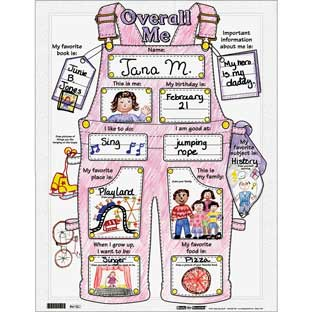 Ready-To-Decorate® Overall Me Posters - 24 posters