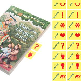 """""""Think-Marks"""" Page-Markers Refill Set"""