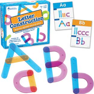 Letter Construction Activity Set – 73 Pieces