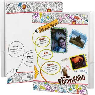 Ready-To-Decorate® Poemfolios