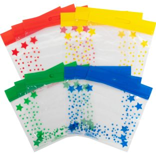 Really Good Stuff® Group-Color Storage Bags - 12 bags
