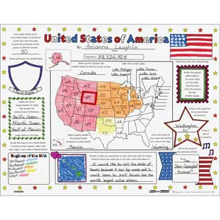 Ready-To-Decorate® United States Of America Posters - 24 posters