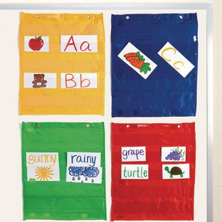 Group Organizing Pocket Charts - 4 pocket charts