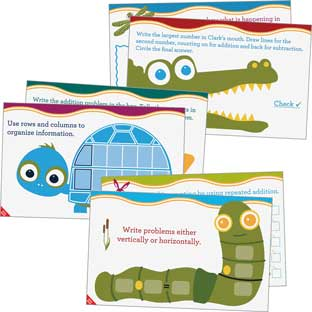 Astute Hoot™ Math Problem-Solving Mats